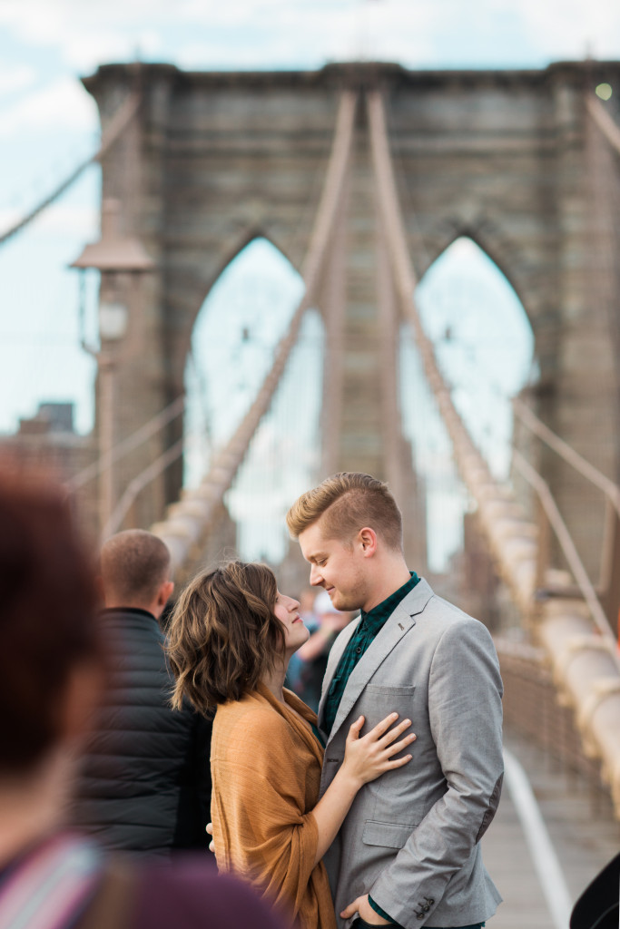 Brooklyn Bridge Couple Photographer