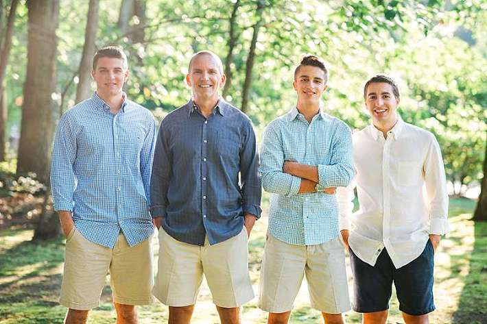 Millstone NJ Family Photographer the boys