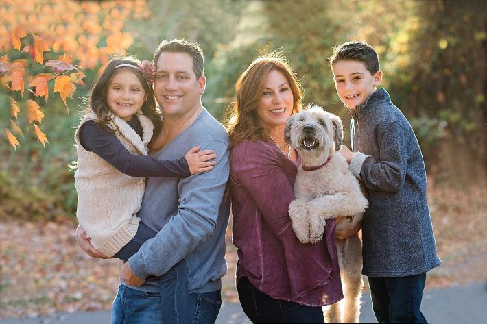 Long Island Family Photographer Hempstead Lake State Park Family with dog Photos