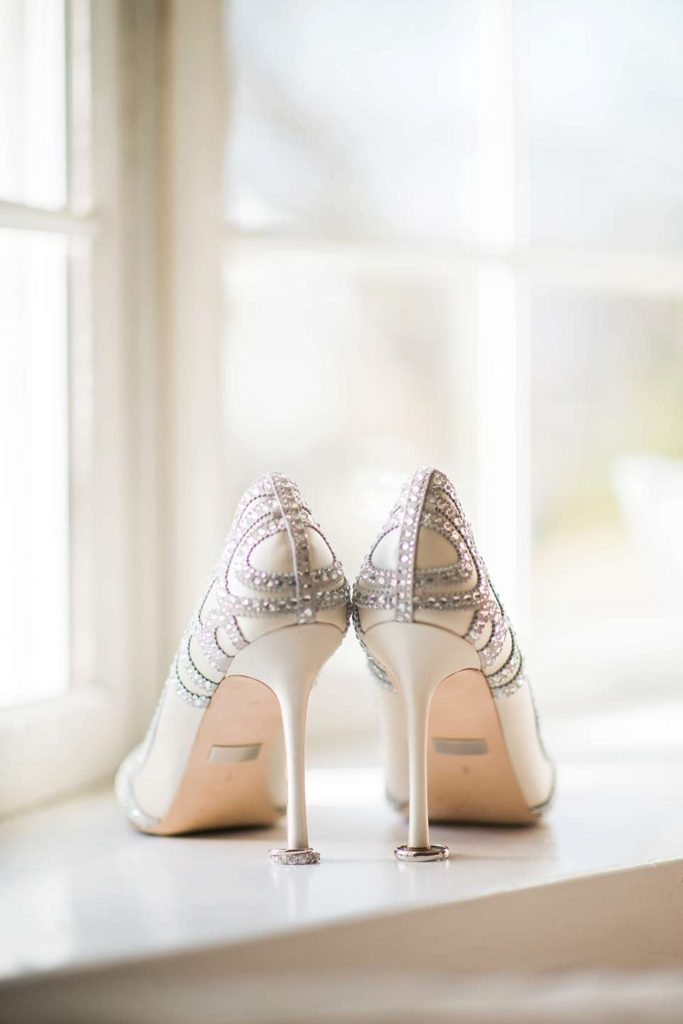 Long Island Wedding Photographer shoes and rings