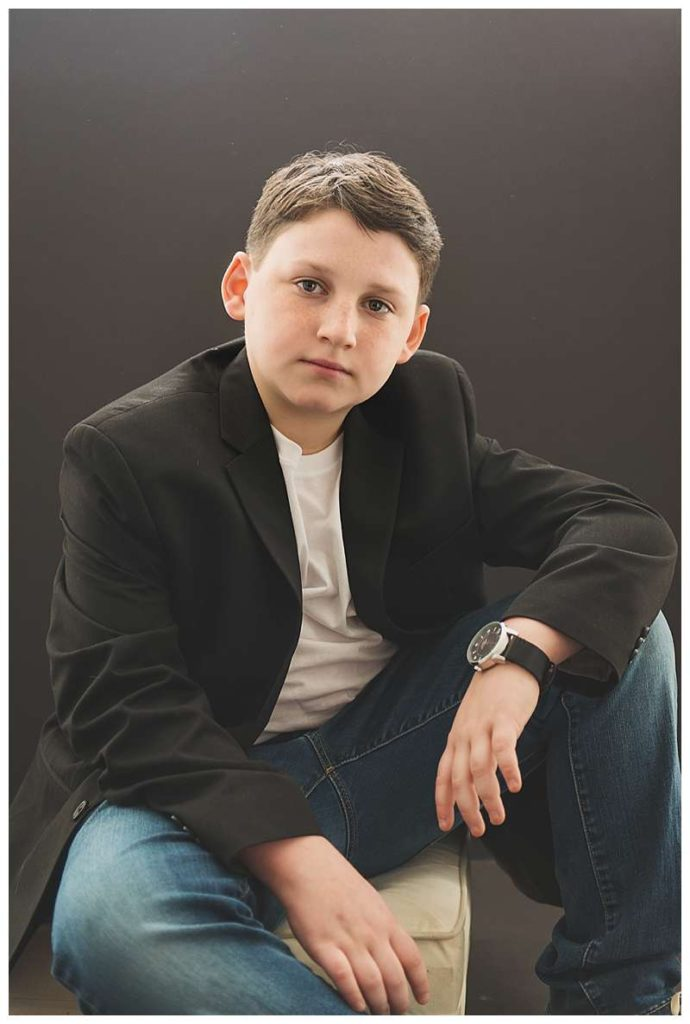 New York Modern boys Studio Portraits special occasion