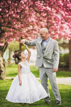 Oceanside Communion Photography daddy and daughter