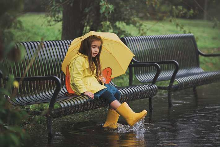 Long Island Child Photographer rainy day