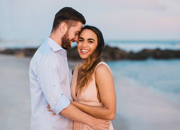 Long Island Beach Wedding Photographer engagement