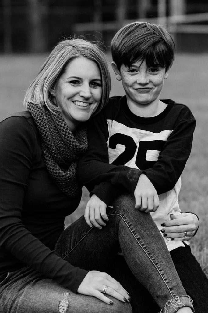 Long Island themed Family Photographer mother and son