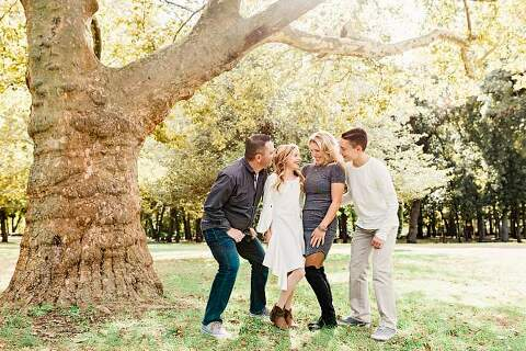 Long Island Family Photos at Park lifestyle image