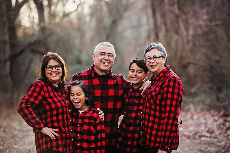 Long Island Lifestyle Family Photographer kids with the grandparents