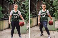 Manhattan Bar Mitzvah Portraits basketball