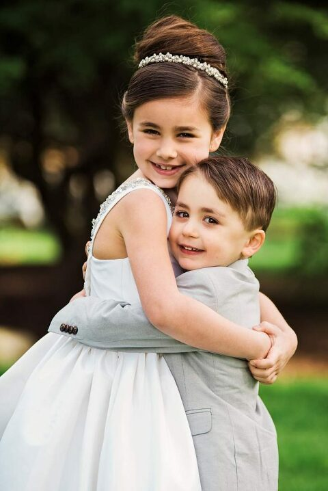 Long Island Communion Photos brother and sister