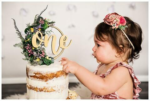 Long Island Boho Cake Smash studio