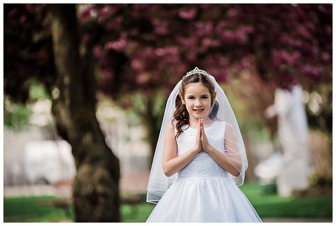 Long Island Communion Photography pink tree