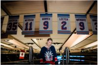 Madison Square Garden Rangers Sweet 16 retired jerseys