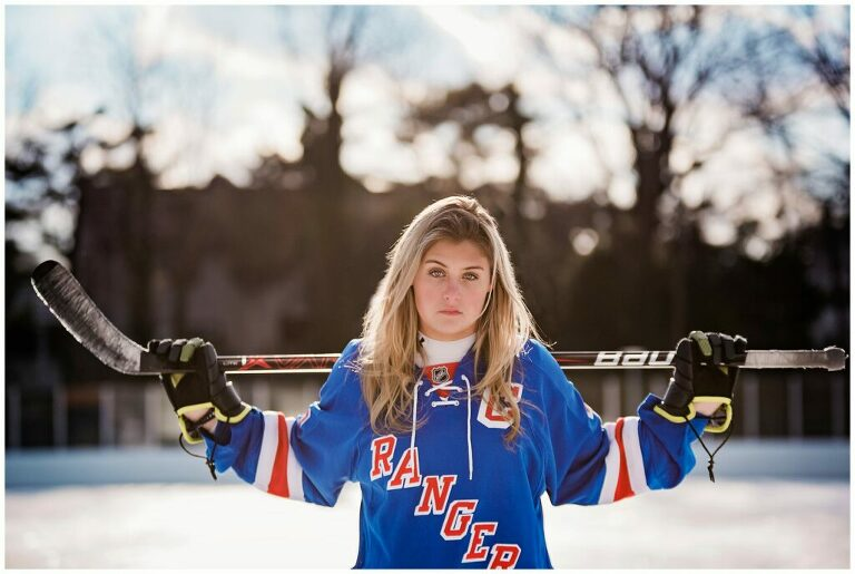 Leslie Renee Photogrpahy Best of 2019 hockey themed