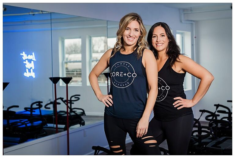 Long Island Fitness Branding Photos core & Co owners